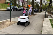 5K (Lima Kilometer): Jasa Pengantaran Belanja oleh Robot