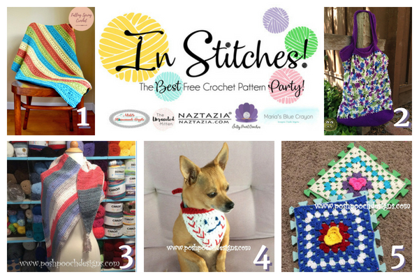 In Stitches Best Free Crochet Pattern Link Up Party Week 11
