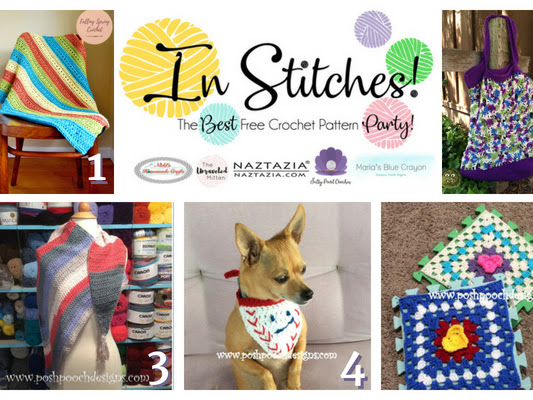 In Stitches - Best Free Crochet Pattern Link Up Party Week #11
