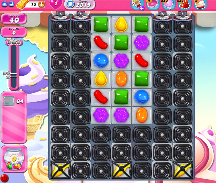 Candy Crush Saga level 2319