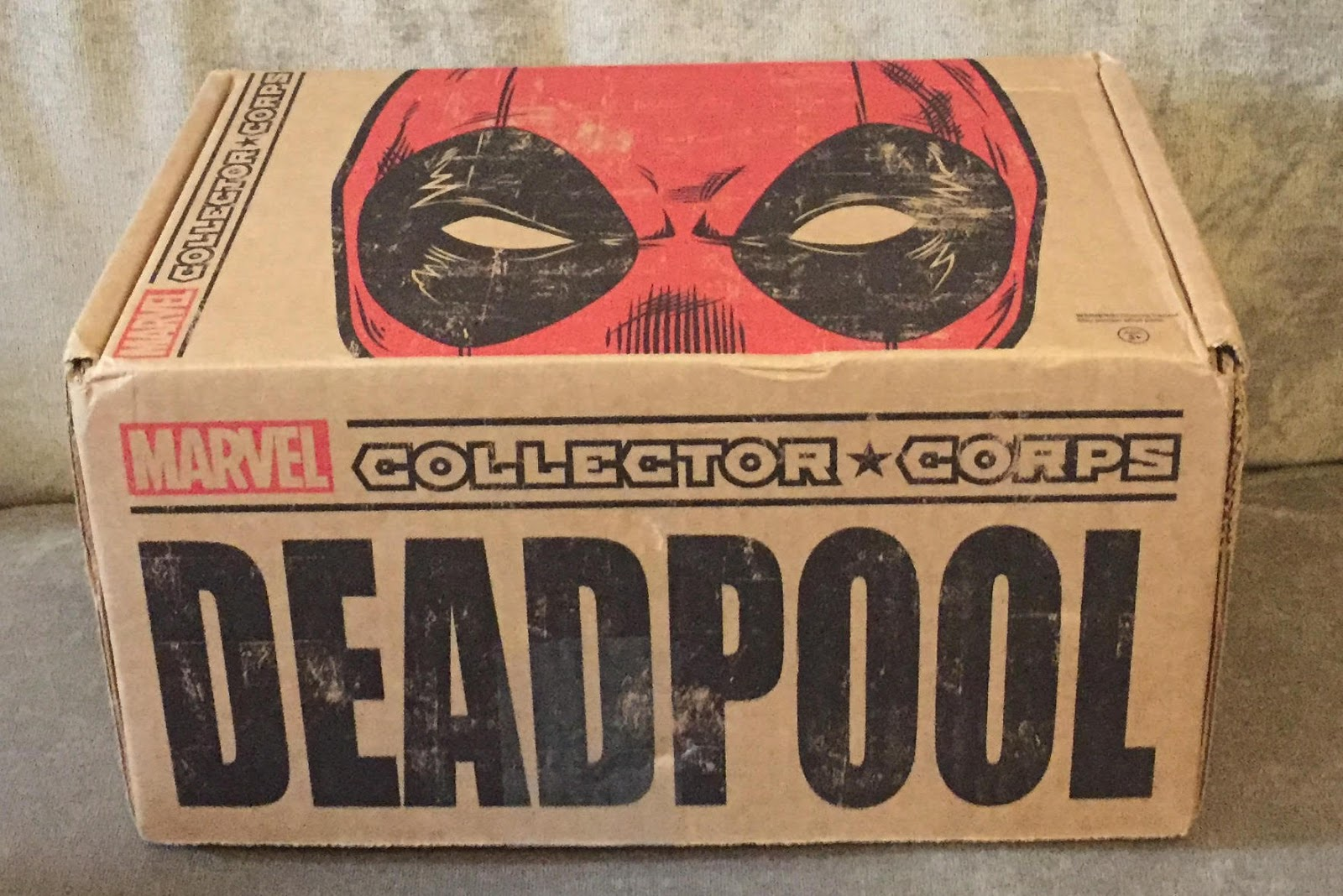 Funko Marvel Collector Corps DEADPOOL Subscription Box ...