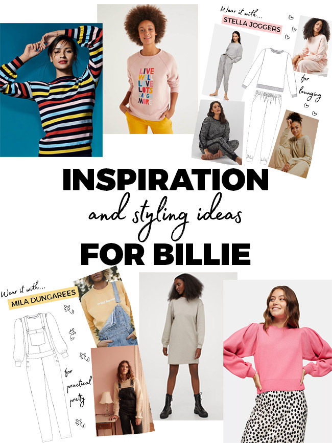 Inspiration and styling ideas for Billie - Tilly and the Buttons