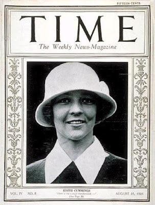 Edith Cummings on Time magazine cover