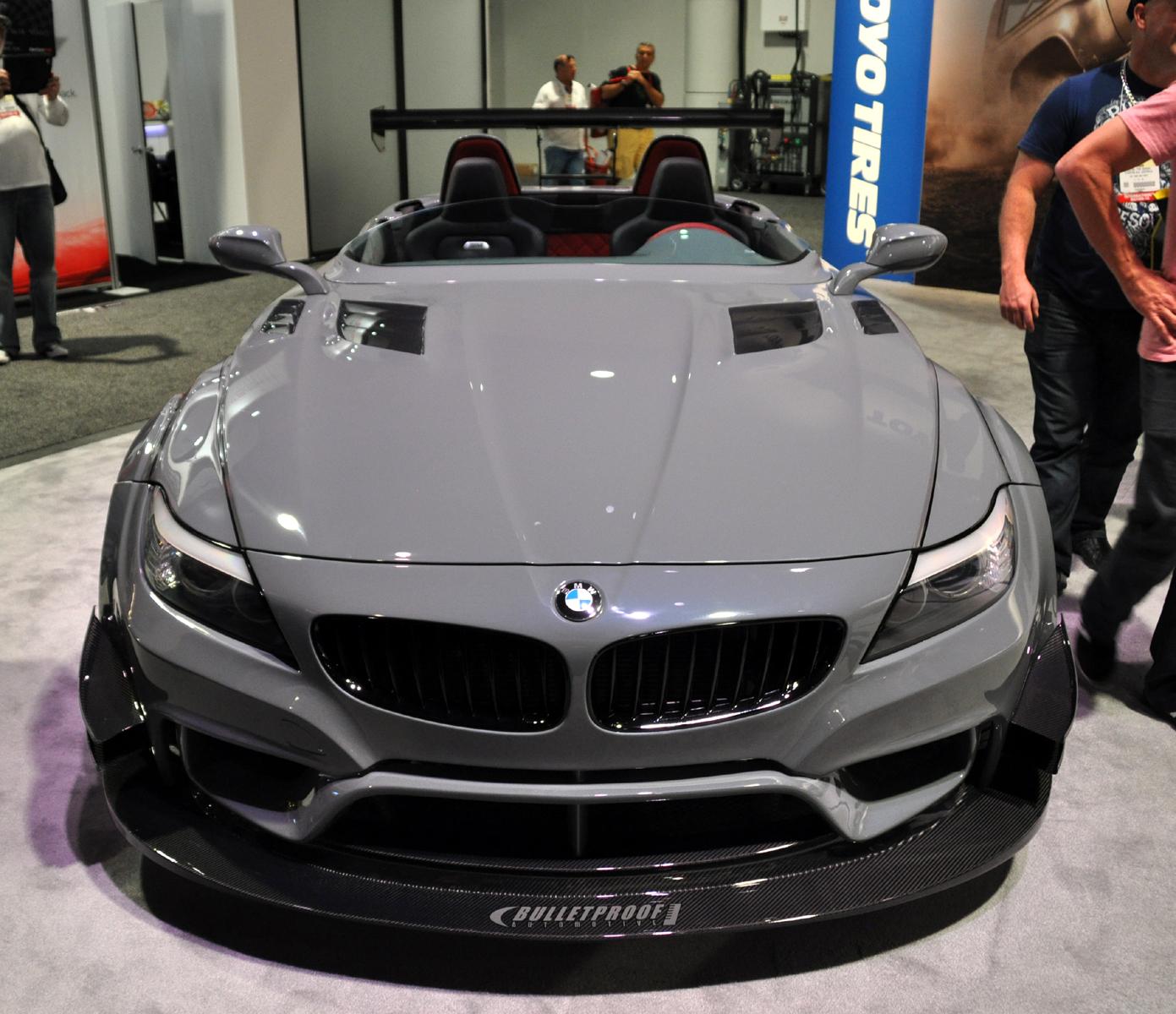 Bmw Z4 I: Just A Car Guy: BMW Z4 GT Roadster From Bulletproof