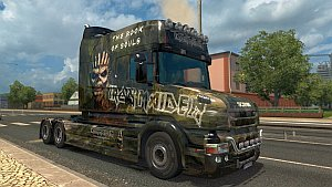 Iron Maiden Book of Souls Scania T Longline
