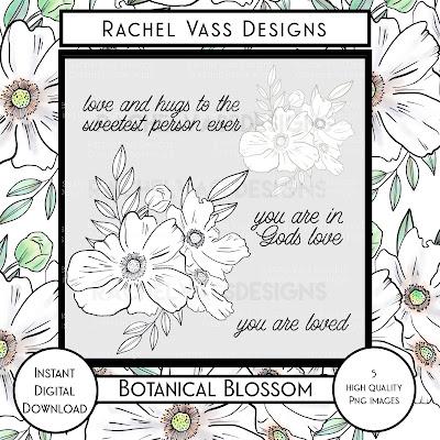 Rachel Vass Designs - Botanical Blossom