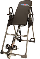 """Ironman Gravity 3000 High Capacity Inversion Table, features reviewed, supports up to 350 lbs user weight, adjustable for people up to 6ft 6"""" tall, inverts up to full 180 degrees"""