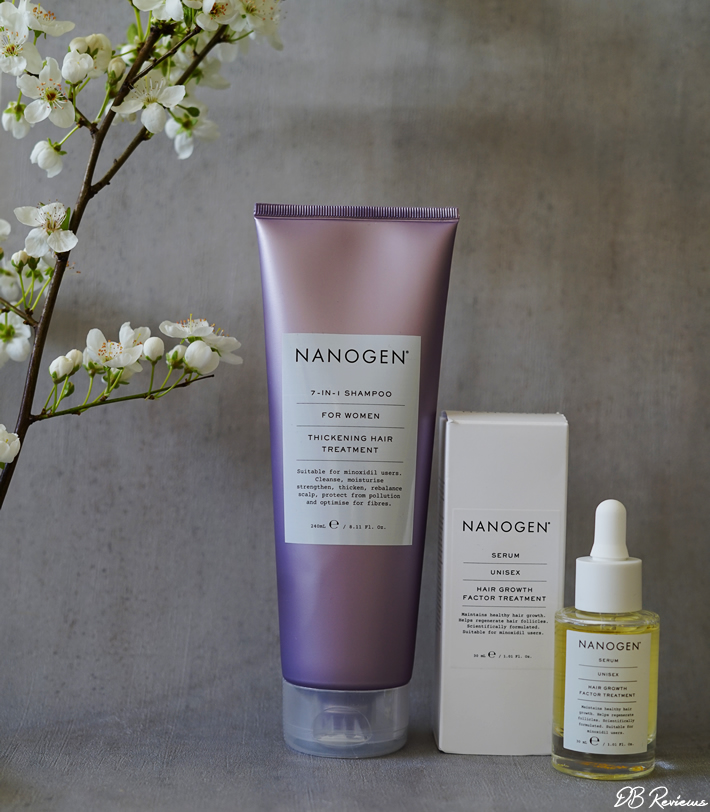 Luxury hair care products from Nanogen