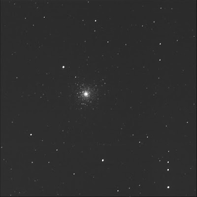 globular cluster Messier 80 in luminance