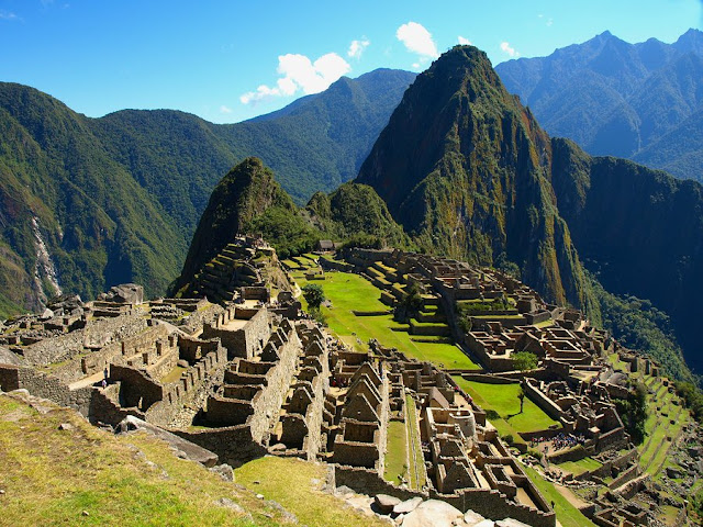 MACHU PICCHU'S INCA PAST, HISTORICAL SPOT