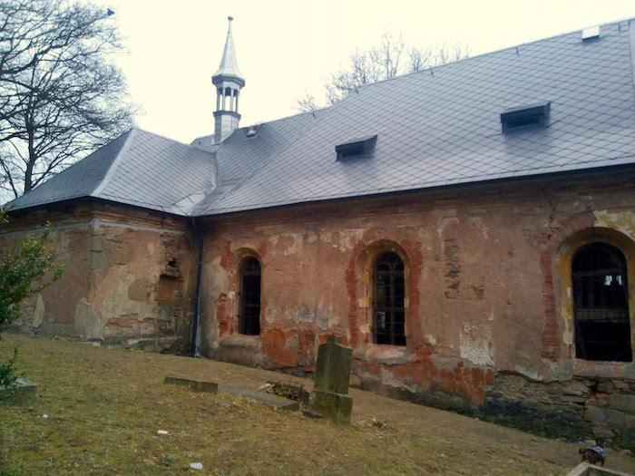 Luková kościół duchów, Czechy kościół duchów, Czechy Luková, Czechy co zobaczyć, EUROPA, Pilzno co zobaczyć,