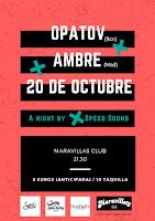 Concierto Opatov y Ambre en Maravillas Club
