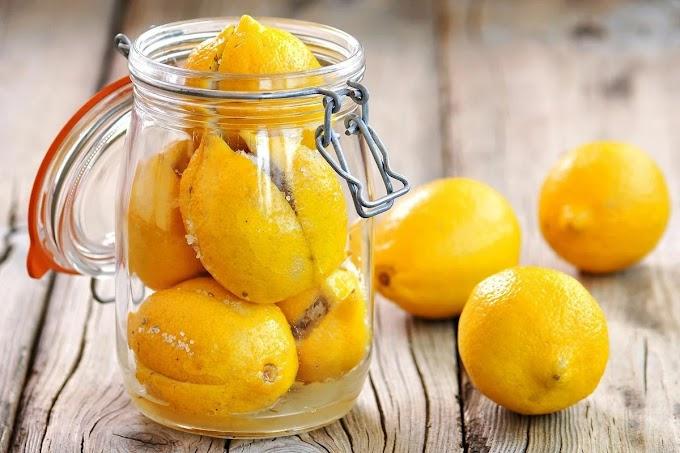 Маринованные лимоны с пряностями