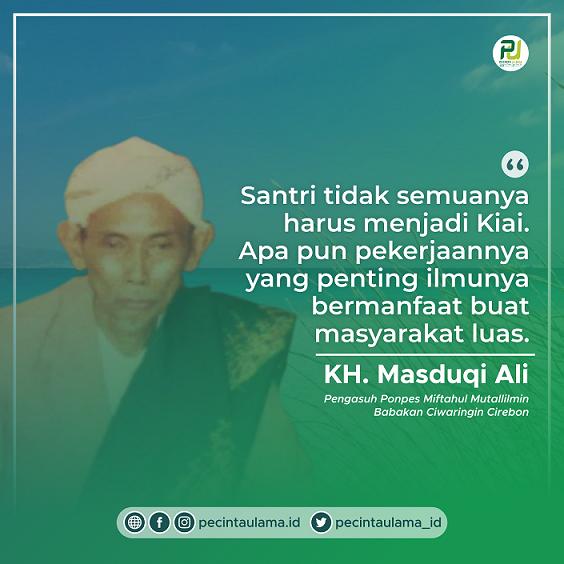 KH Masduqi Ali Babakan, Sekretaris Pribadi Hadratussyekh KH M Hasyim Asy'ari