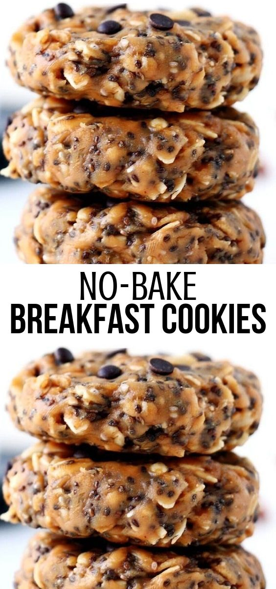 No-Bake Breakfast Cookies
