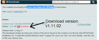 CREATIVE LIVE CAM VISTA IM DRIVER FOR WINDOWS