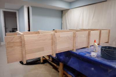 bare wood woodworking shelf shelving vinyl storage album record