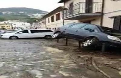 Varios muertos por lluvias en Italia,Livorno; toscana