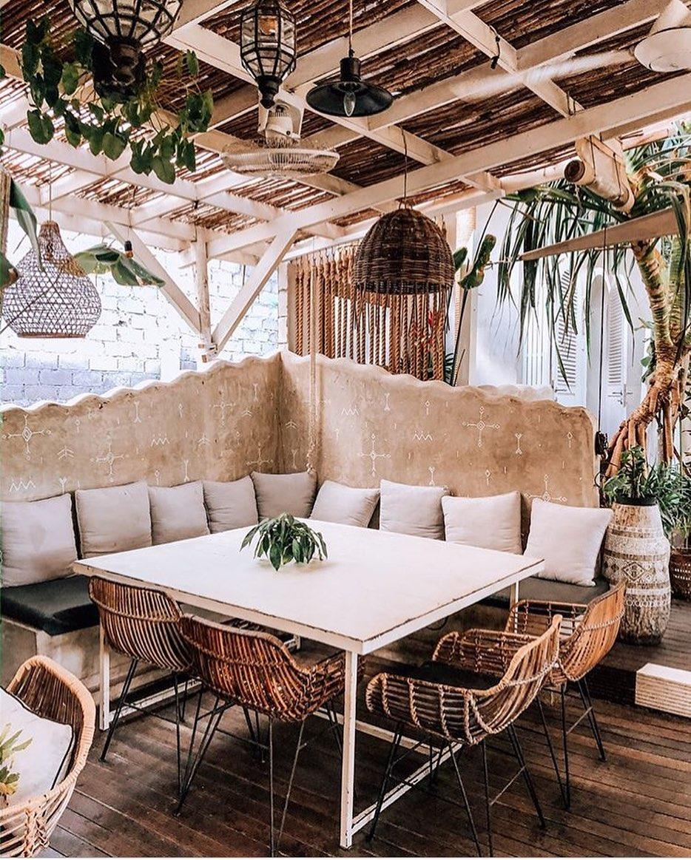 interior keren cafe milu canggu bali