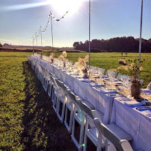 Table for 150 guests