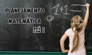 Planejamento com atividades Matemática Educação Infantil