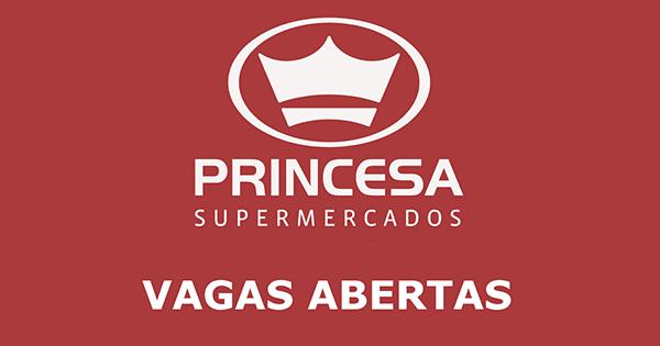 Supermercados Princesa contrata Operador de Caixa para diversas lojas