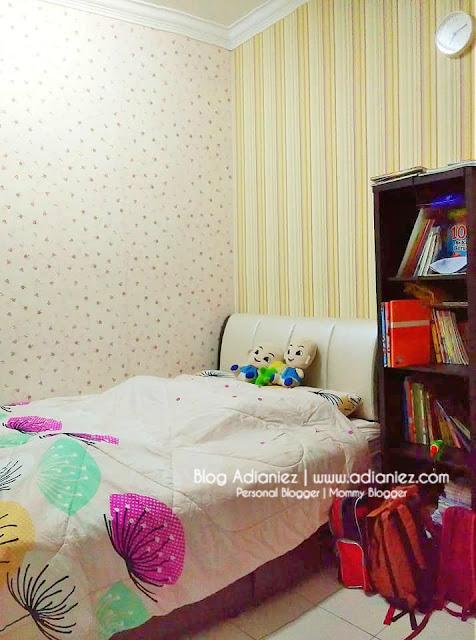 Susun Atur | Bilik Anak-Anak Dara