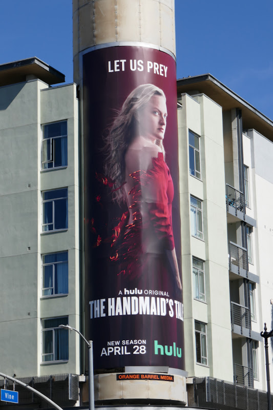 Handmaids Tale season 4 billboard