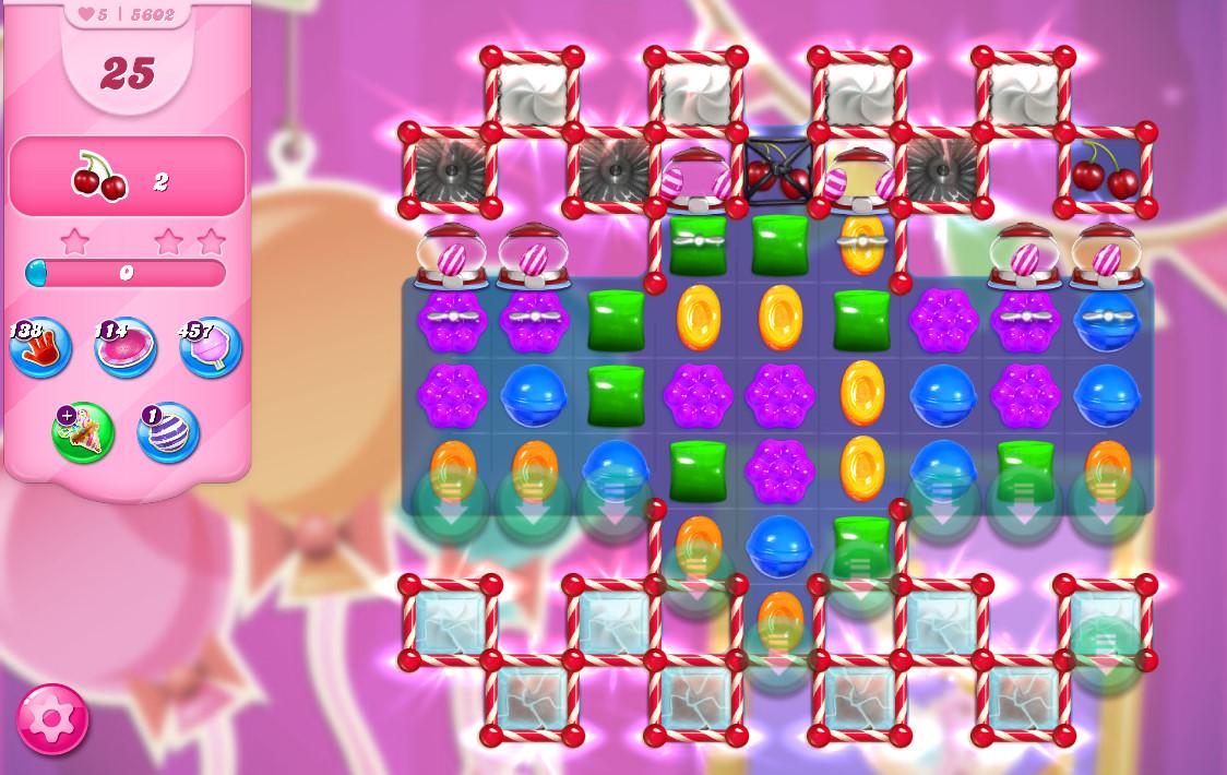 Candy Crush Saga level 5602