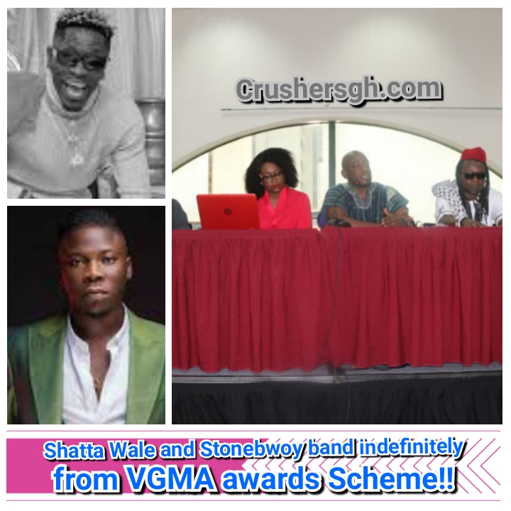 Shatta Wale and Stonebwoy Band Indefinitely From VGMA Awards Scheme | Board Reveals