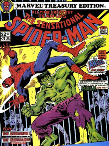 Marvel Treasury Edition #27, Spider-Man vs the Hulk