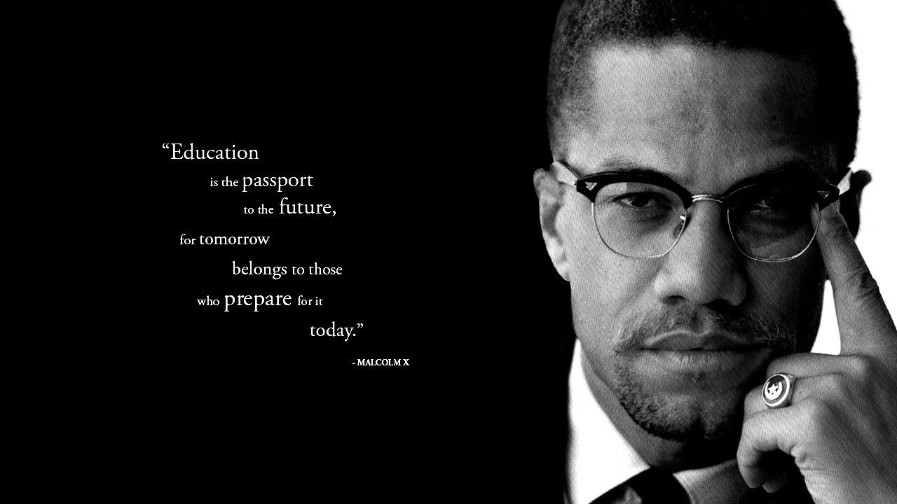 Malcolm X, a True Self Made Man