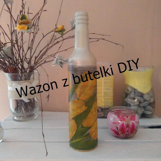 co zrobic z butelki, tutorial, dekoracje do domu, diy, co zrobic , dekoracje, home, kwiaty, flowers, piekny dom
