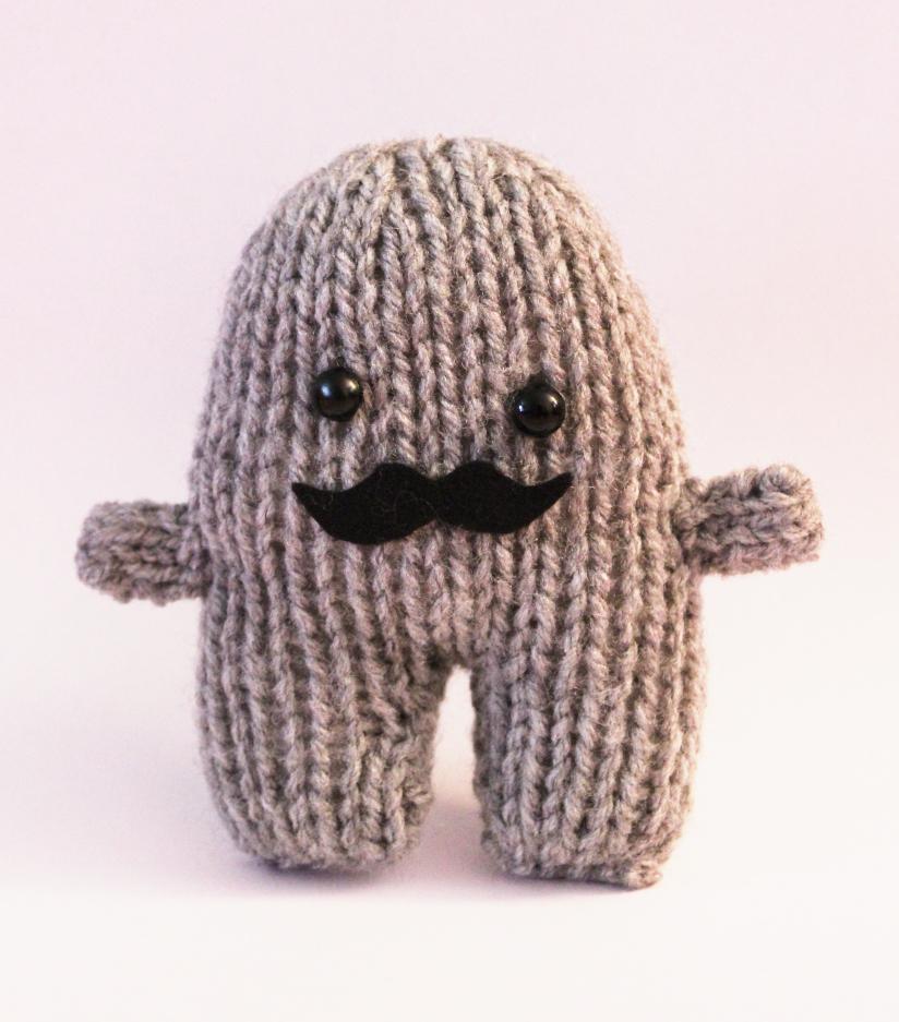 Knitted Toy Box Mr Mrs Tashe