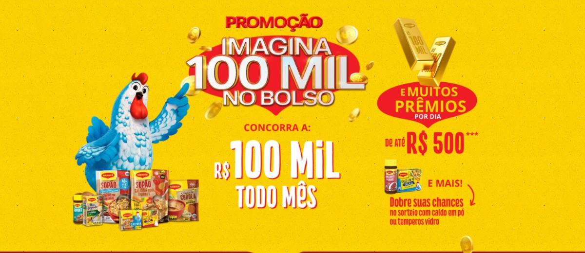 Promoção Maggi 2021 Imagina 100 Mil no Bolso