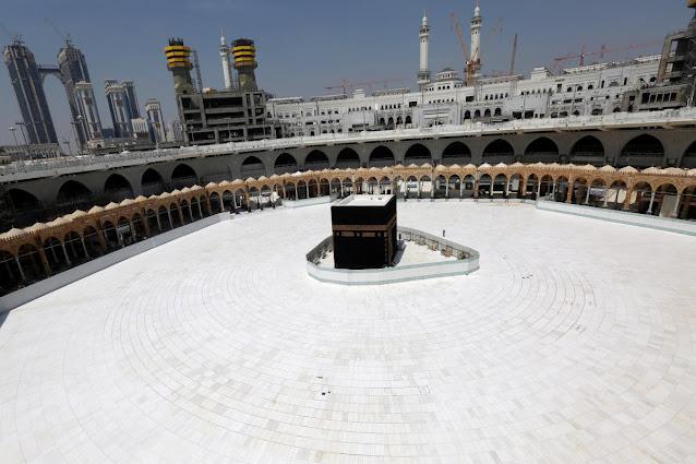 Masjid dan Kaabah Sepi