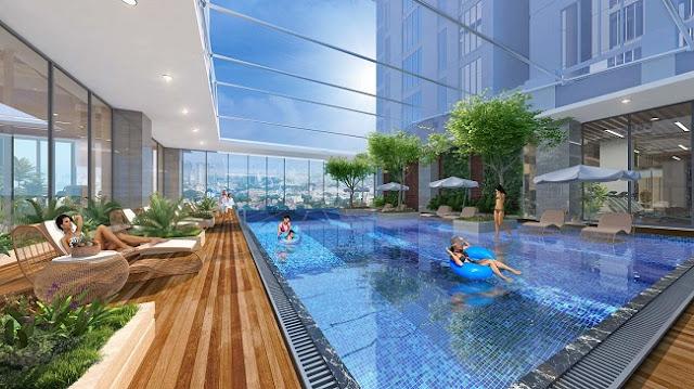 Bể bơi Chung cư Sun Grand City Ancora Residence Lương Yên