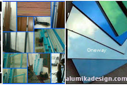 Proses produksi kusen aluminium pintu dan jendela