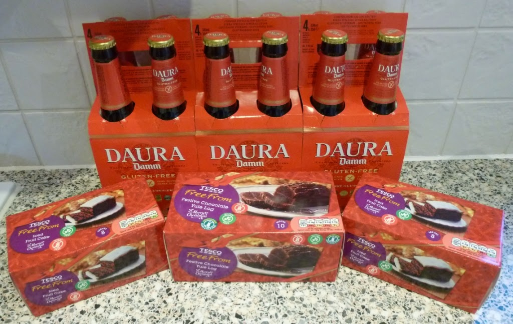 Tesco have Estrella Damm Daura gluten free beer on sale at £6 for four bottles. They're in the 3 for 2 deal too.