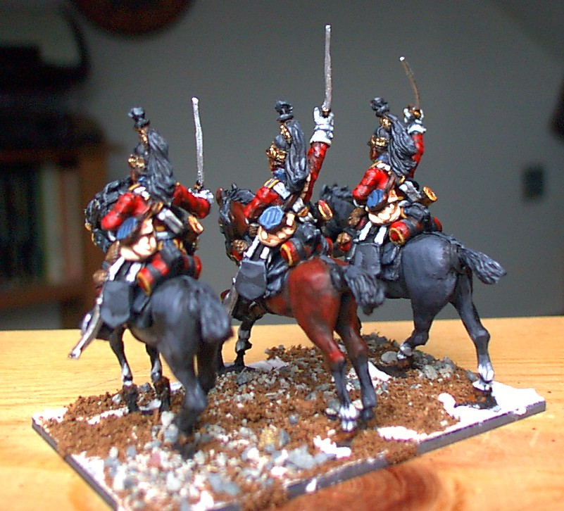 Painting Napoleonic Wargames Figures With Acrylic Paint