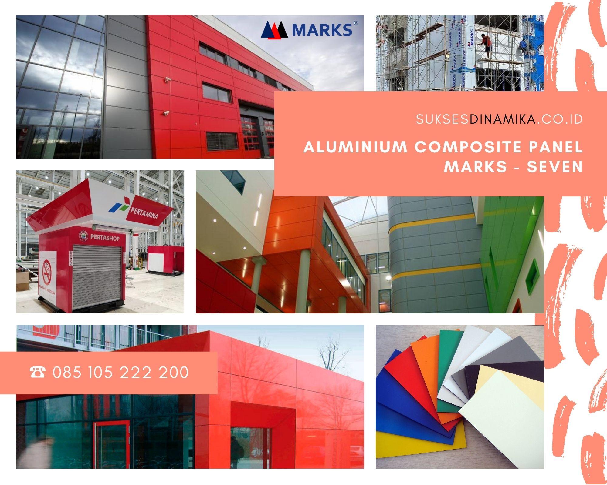 Toko Aluminum Composite Panel Marks Seven Tulungagung