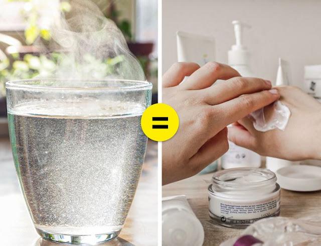 ماذا يحدث للجلد إذا كنت تشرب الماء الدافئ كل يوم