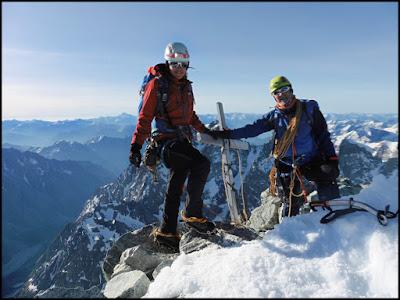 Barre des Ecrins, Alpes