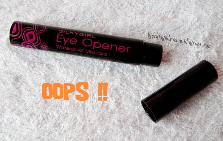 SILKYGIRL Eye Opener Waterproof Mascara 01 Black
