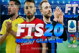 FTS 20 Ultimate Full Kompetisi Eropa Graphics Full HD 2020