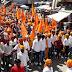 विजयदशमी पर राजपूत समाज ने स्वाभिमान शोभायात्रा निकाली, जगह जगह हुआ स्वागत