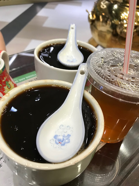 Koong Woh Tong, herbal jelly five flower tea