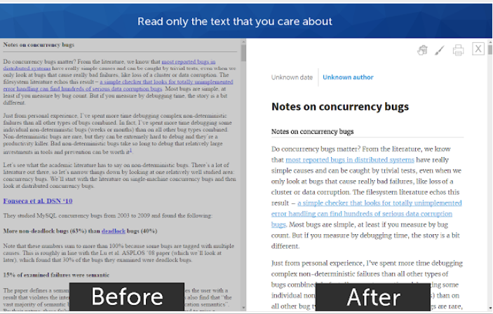 4 Good Chrome Add-ons to Optimize Your Online Reading Experience
