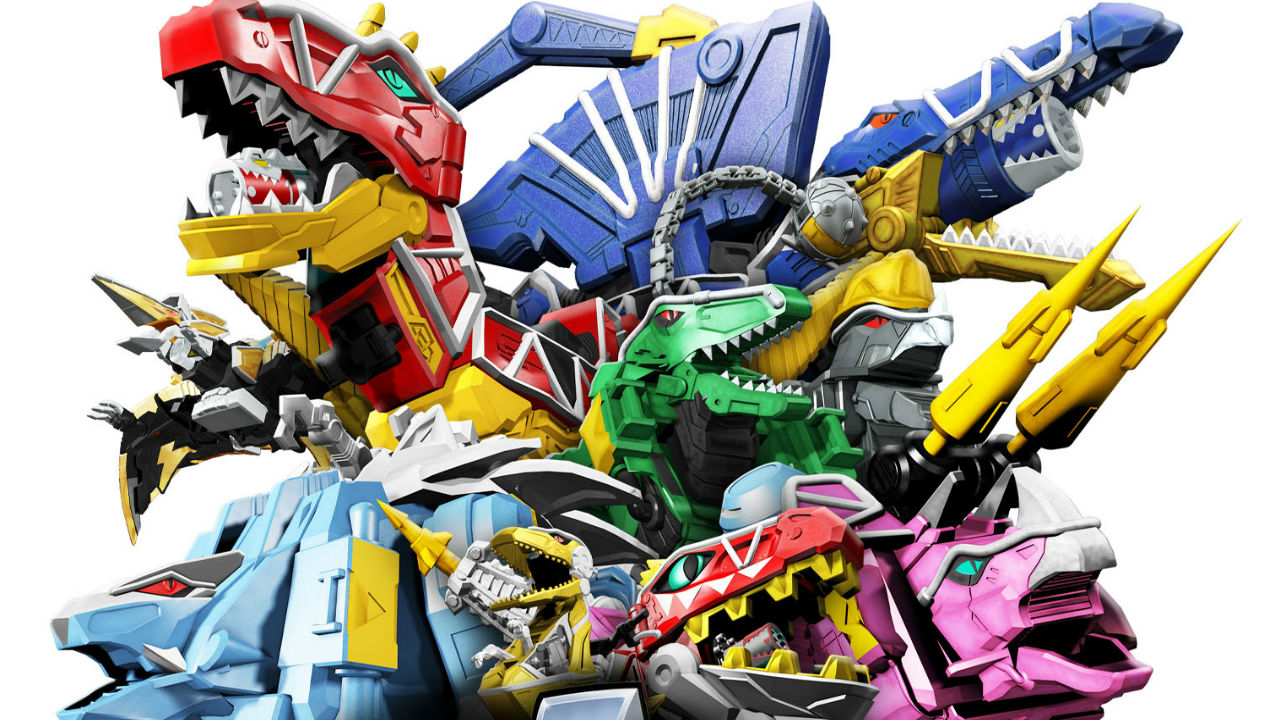 - Comic Frontline: Power Rangers Dino Super Charge: The Complete