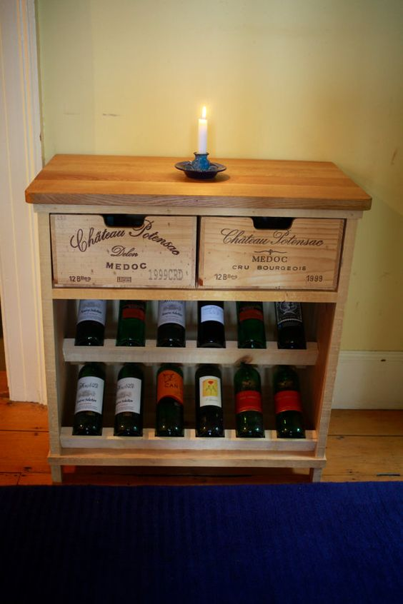 Wine Crates And Boxes The 8 Best Wine Box Shelves Amp Tables